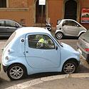 Automobiliai ir parkavimas Romoje