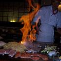 Vakarienė japonų restorane