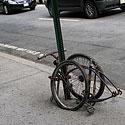 Dviratis Niujorko gatvėje