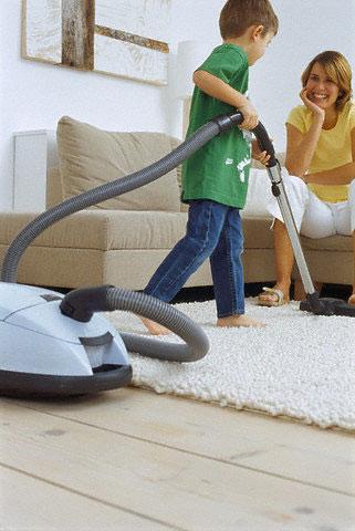Vaikai, namų ruoša
