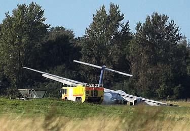 Danijoje avariniu būdu nusileidęs kompanijos SAS lėktuvas