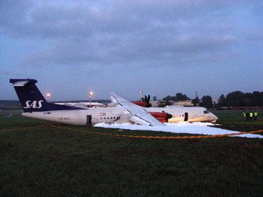 Vilniaus oro uoste avariniu būdu nusileido lėktuvas