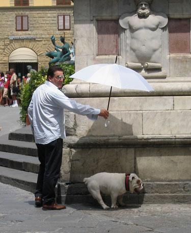 Pasivaikščiojimas Florencijoje
