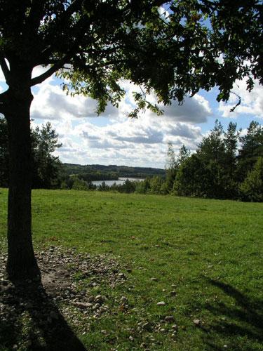 Vaizdas nuo Ladakalnio į Ignalinos ežerus