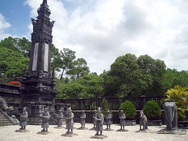 Vietnamas, Hue, Khai DinhTomb
