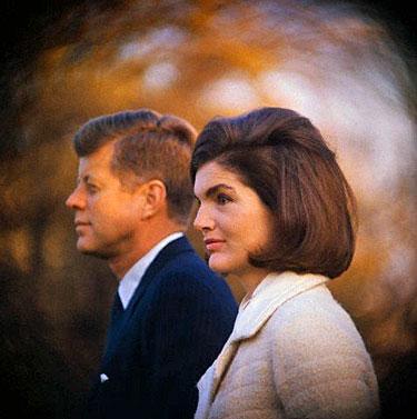Jacqueline ir Johnas Kennedy 1963 m.