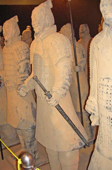 Terakotinės kinų armijos ekspozicija