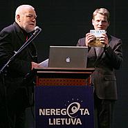 Antanas Sutkus ir Marius Jovaiša