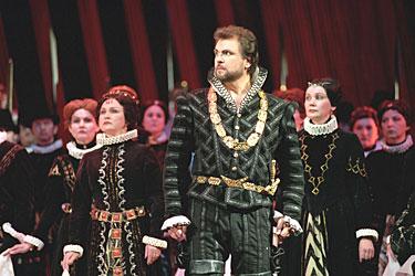 """Sergejus Larinas G.Verdi operoje """"Don Karlas"""""""