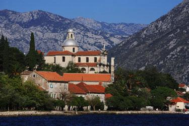 Prcanj miestelio bažnyčia,  Juodkalnija