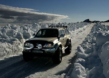 Islandija, žiema