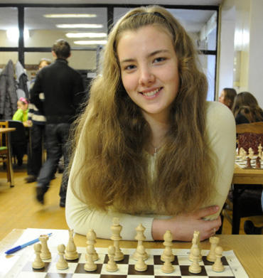 Šachmatininkė Brigita Laurušaitė