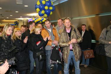 Šengeno erdvės atidarymas Vilniaus oro uoste