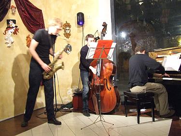Florencija, džiazas <i>Cafe Cite</i>