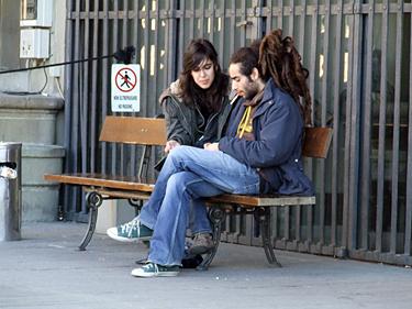 Florencija, žmonės gatvėse