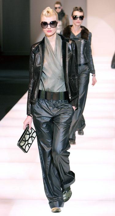 Giorgio Armani modelis, 2008-2009 m. ruduo-žiema