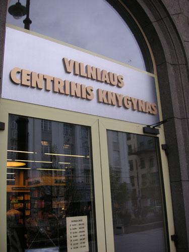 Vilniaus centrinis knygynas