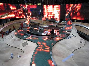 """""""Eurovizijai 2008"""" baigiama ruošti Belgrado arenos scena"""