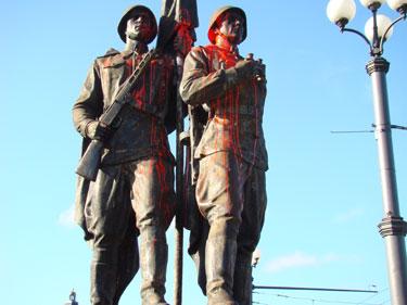 Skulptūros ant Žaliojo tilto