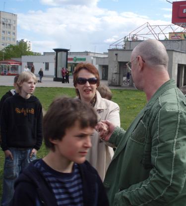 Aktorė Violeta Podolskaitė ir velionės Janinos Miščiukaitės vyras muzikantas Rimantas Brazaitis