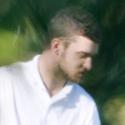 Justinas Timberlake'as žaidžia golfą