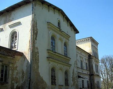Belvederio dvaro rūmai, Panemunės pilys