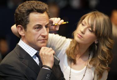 Nicolas Sarkozy vaškinė figūra Madam Tussauds muziejuje Londone