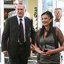 Audrius Matonis su žmona Snieguole
