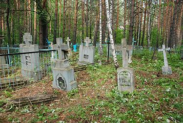 Lietuvių tremtinių kapinės Sibire