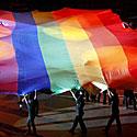 Vaivorykštės spalvų vėliava