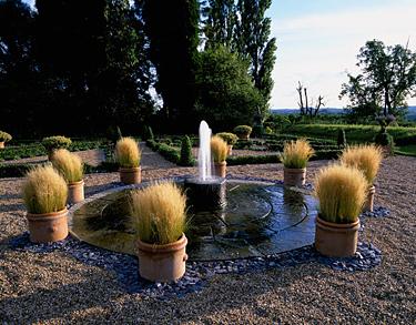 Vanduo sode, fontanas