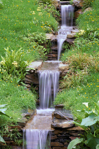 Vanduo sode, kaskados