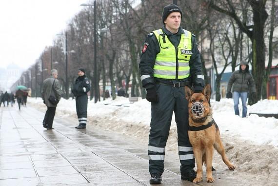Митинг в Каунасе: 400 участников, 2 задержанных <font color=#6699CC><b>(дополнено)</b></font>