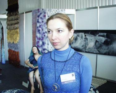 Gildijos steigėja dailininkė Jolanta Šmidtienė