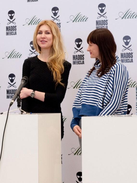 Diana Kuzmickaitė ir Aušra Urbanavičiūtė