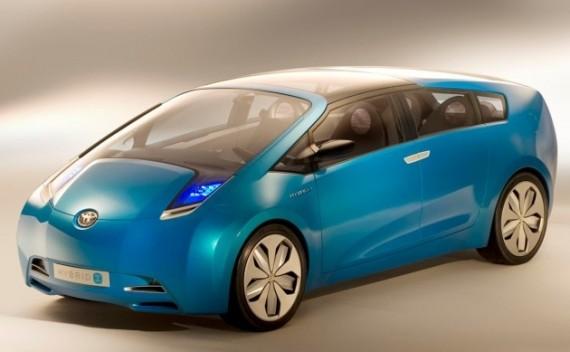 Automobilis gali būti kuriamas pagal Toyota Hybrid X koncepciją