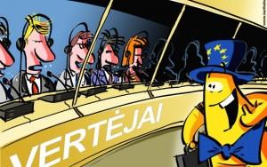 Europiukas džiaugiasi, kad EP yra vertėjų