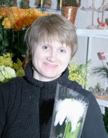 """""""Rotušės Floralitos"""" meistrė-floristė Lina Stumbrienė"""