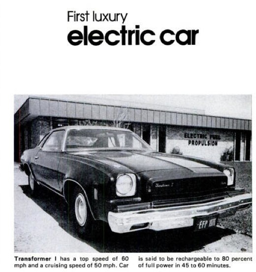 Elektromobiliai: nuo 1916 m. iki dabar