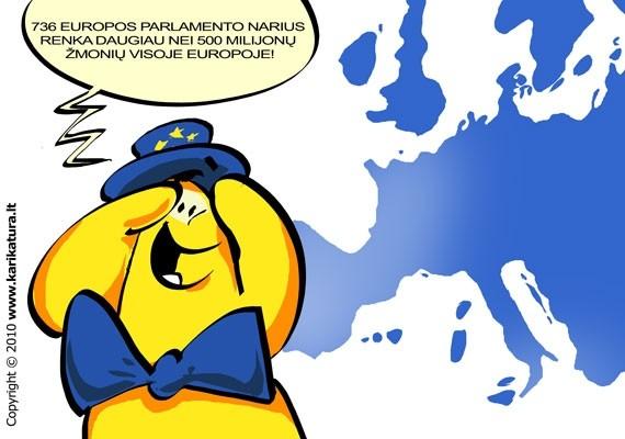 Europos Parlamentas - demokratinė ES institucija, kurią renką 500 milijonų ES piliečių. EP rūpinasi, kad priimami sprendimai gintų piliečių interesus.
