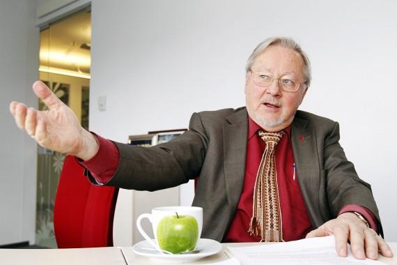 V. Landsbergis: Jei mano laikas žemėje dar nesibaigia, darbo turiu užtektinai