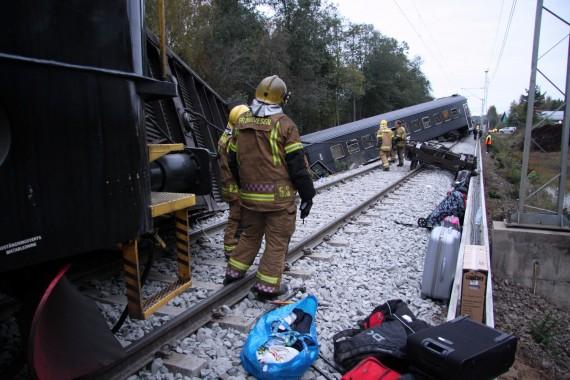 Traukinio avarija