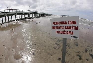 Jau metus galiojanti Baltijos jūros strategija beveik nedavė rezultatų