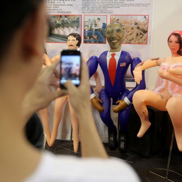 Kinai sukūrė B.Obamos išvaizdos sekso lėlę