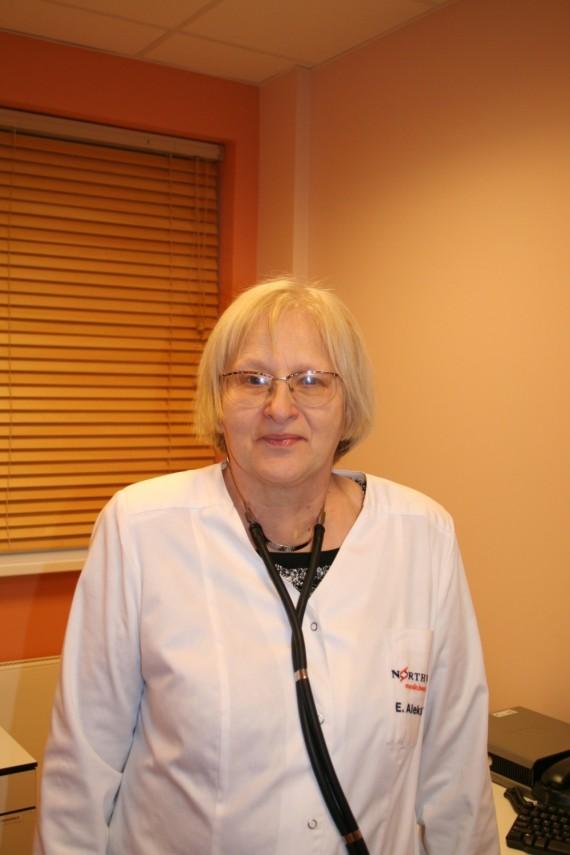 Pulmonologė Eugenija Aleksaitė