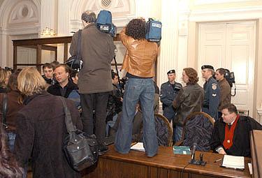 Šimtus žurnalistų į Vilnių sutraukė B.Cantat teismo procesas