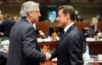 Jeanas - Claude Junckeris ir Nicolas Sarkozy