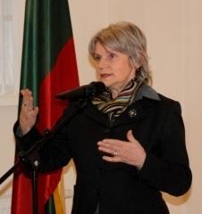 Lietuvos gyventojų genocido ir rezistencijos tyrimo centro vadovė B.Burauskaitė. LGGRTC nuotr.