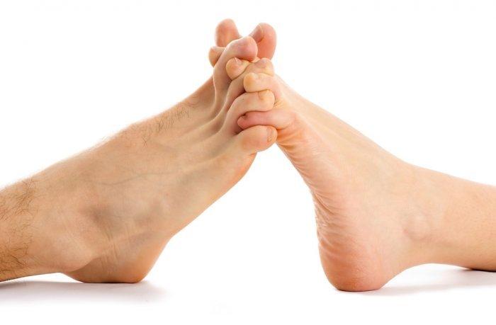 erekcijos taškai ant kojų