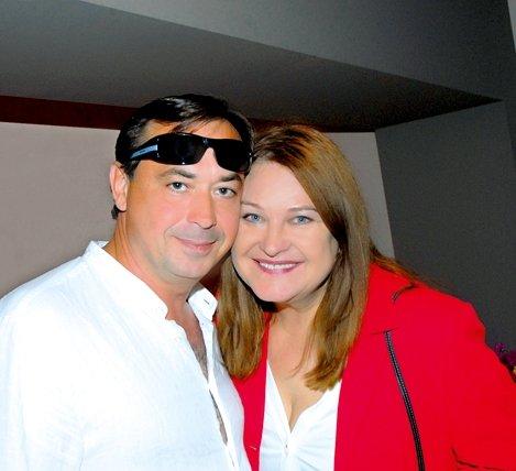 Birutė Petrikytė su vyru